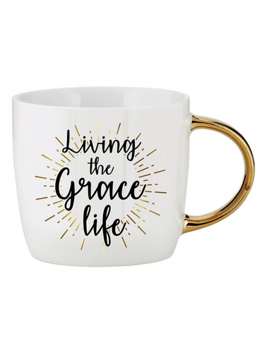 14oz Ceramic Living the Grace Mug