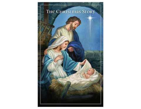 "5"" H Pocket Prayer Folder - The Christmas Story - Nativity of Jesus Christ"