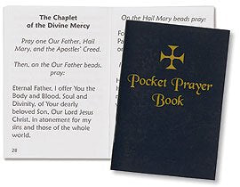 Traditional Cover Pocket Prayer Book , 12 pcs