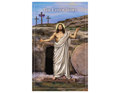 "5"" H Pocket Prayer Folder - The Easter Story - Resurrection of Jesus"
