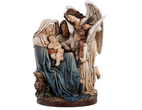 "7"" Angels Serenade Figurine"