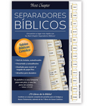 "9"" H Bible Tabs - Catholic Version in Spanish"
