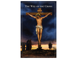 "5"" H Pocket Prayer Folder - Stations of the Cross"