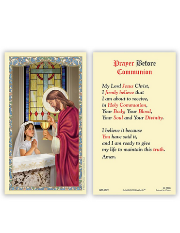 prayer card holy prayer card prayer cards holy prayer cards first communion prayer card