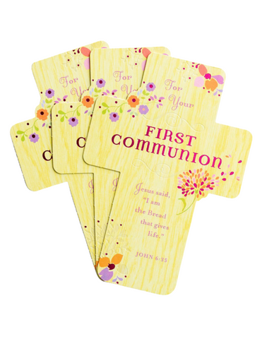 Communion Greeting Cards - The Joy She Brings - 3 Premium Cards