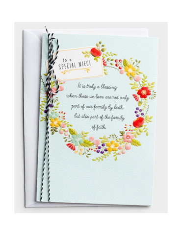 Confirmation Greeting Cards - Niece - 3 Premium Cards