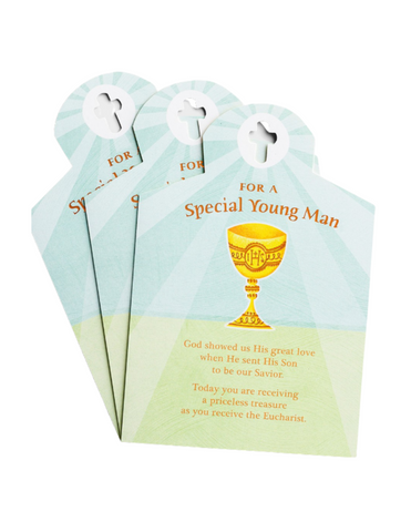 Communion Greeting Cards - A Priceless Treasure - 3 Premium Cards