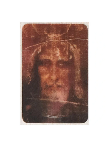 Shroud of Turin Holographic 3D Cards Turin Holographic 3D Cards Holographic 3D Cards Shroud of Turin  Shroud of Turin  Card