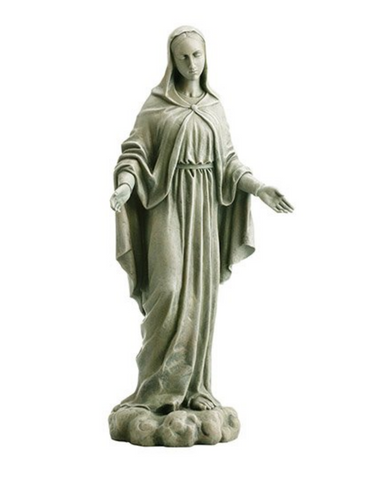 Our Lady Of Grace Garden Statue Our Lady Of Grace Home Statue Our Lady Of Grace Statue Garden Statue Home and Garden decoration