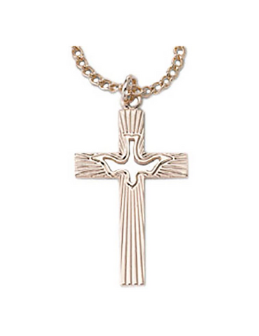 Holy Spirit Cross Necklace