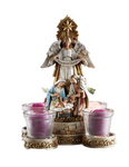 "10""H Candleholder - Nativity Advent"