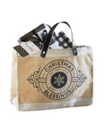 "9.5""H Mini Market Tote - Christmas Blessings"