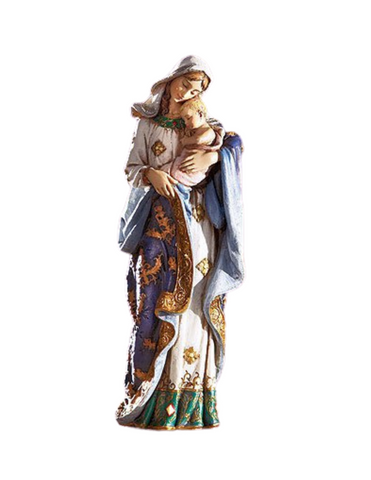Ave Maria - Figurine Adoring Madonna & Child