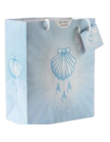 Baptism Boy Small Gift Bag