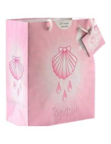Baptism Girl Small Gift Bag