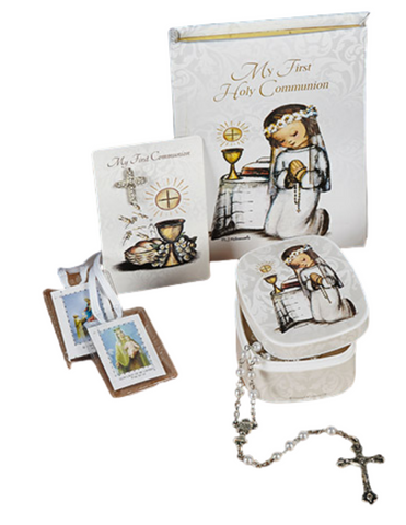Deluxe M. I. Hummel First Communion Gift Set for Girls