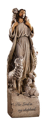 "The Lord Is My Shepherd 12"" Statue"