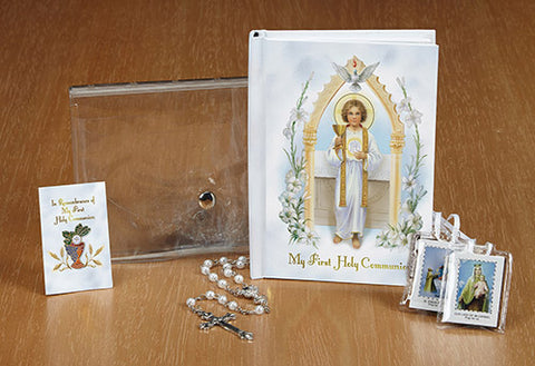 Jesus, Pure And Holy First Communion Wallet Set