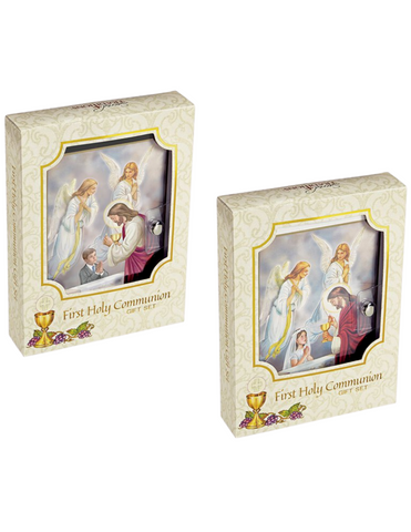 Blessed Sacraments First Communion Wallet Set