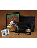 First Communion Leatherette wallet Features My Body, My Blood Set for Boys