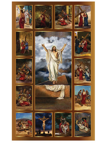 "60"" H Stations of the Cross Banner"