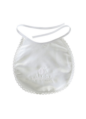 Baptismal Bib with Baptized in Christ Text