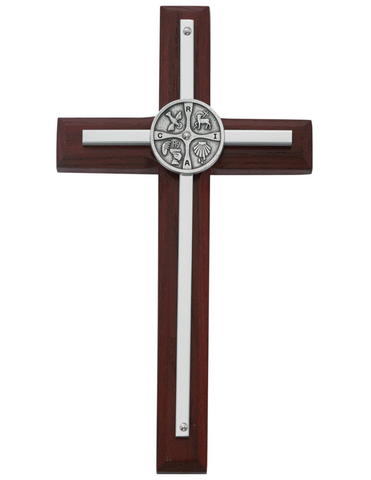 "7"" Cherry RCIA Overlay Cross"