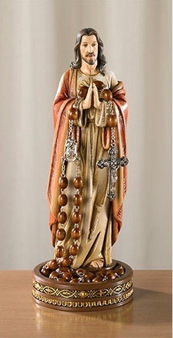 Sacred Heart Rosary Holder