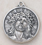 "The Heritage Head Of Christ Medal w/ 24"" Chain"