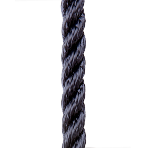 Navy Three Stand Polyester Rope
