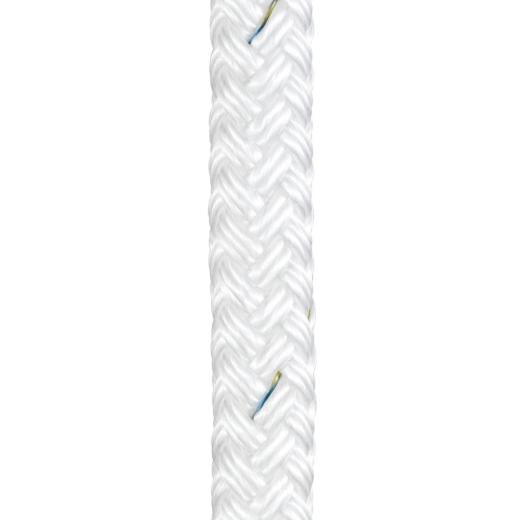 Braid on Braid Polyester Rope White