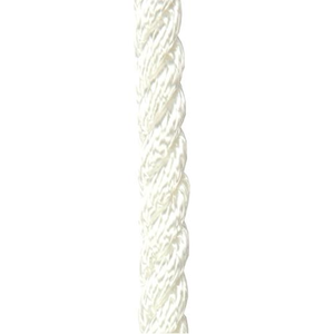 White Three Stand Polyester Rope