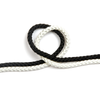8 Plait Polyester Rope Black and White