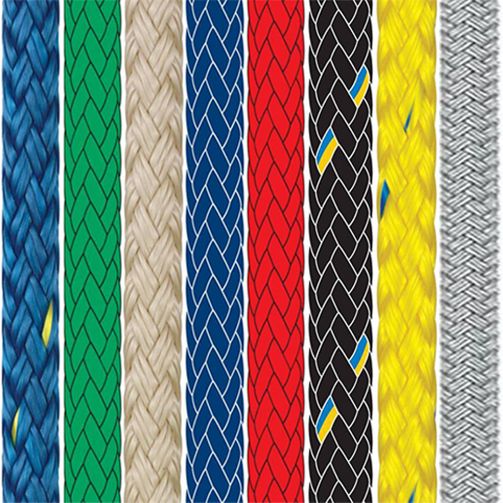 Braid on Braid Polyester Rope Solid Colour