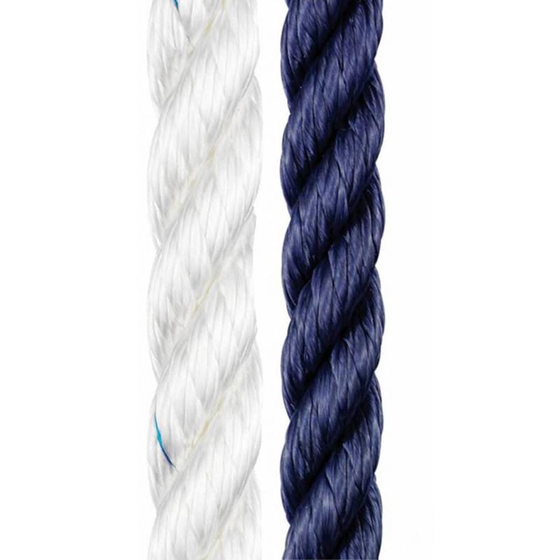 Classic polyester rope available in white and navy