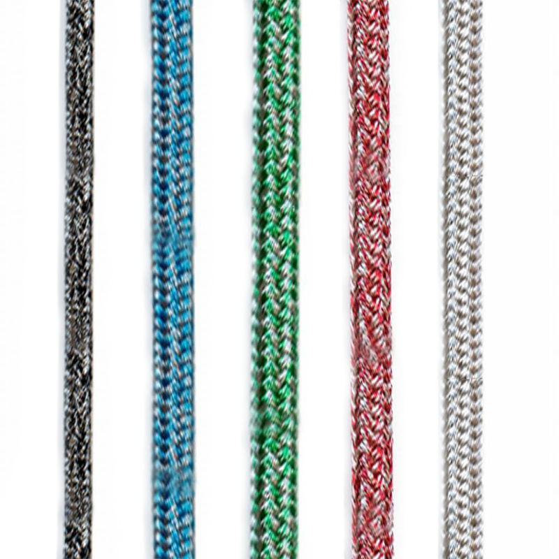 Dyneema Cruise Control Line Rope - Black, Blue, Green, Red, Silver