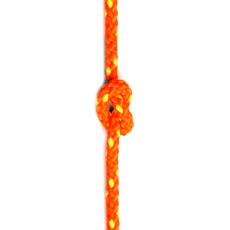 Floating Safety Line High Visibility Rope available in Orange/Yellow and Yellow/Red