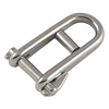 Key Pin Shackle + Bar Stainless Steel
