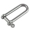 Long Dee Shackle Stainless Steel