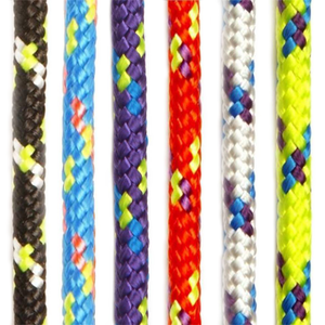 Low Stretch Polyester Control Line Rope - Black, Blue, Purple, Red, White, Yellow