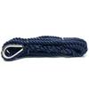 Navy Pre-Spliced Three Strand Mooring Lines with Thimble Eye