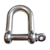 Standard Dee Shackle S/S (4-12mm)