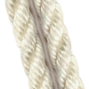 White Three Strand Mooring Line Rope