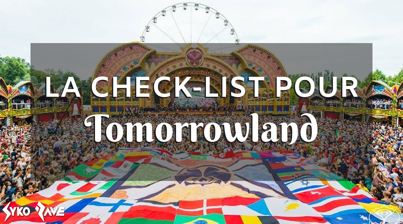 check-list tomorrowland