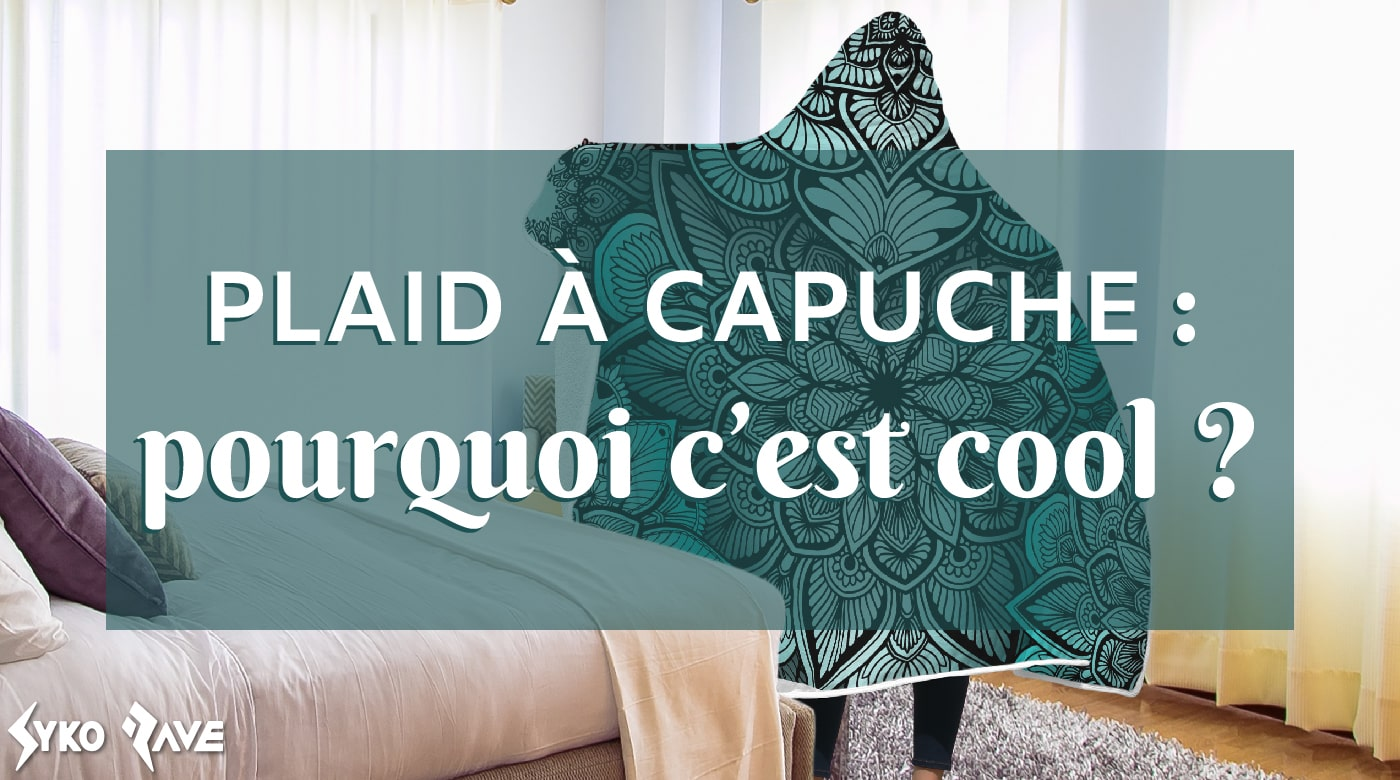 plaid à capuche