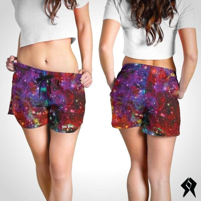 Short Femme Electric Cloud - Syko Rave