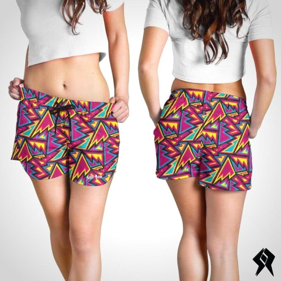 Short Femme Electric Flash - Syko Rave