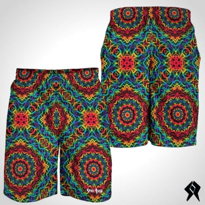 Short Homme Trippy Rainbow - Syko Rave