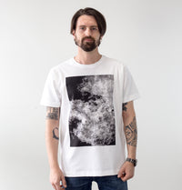Flame in black, by David Muoz, on Groovink t-shirt