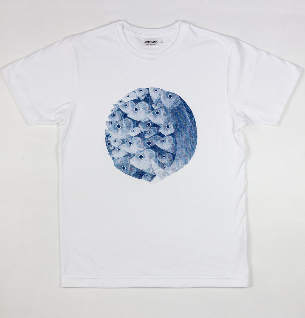 Sgombri, by Giacomo Bagnara, on Groovink t-shirt